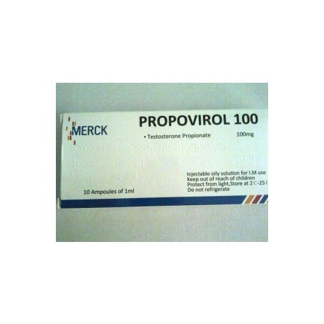 Test Propionate 10 ampoules 100mg/amp