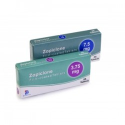 ZOPICLONE 30 x 7.5mg tabs pharma grade India