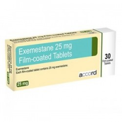 Aromasin- Exemestane 30 x 25mg tablets UK