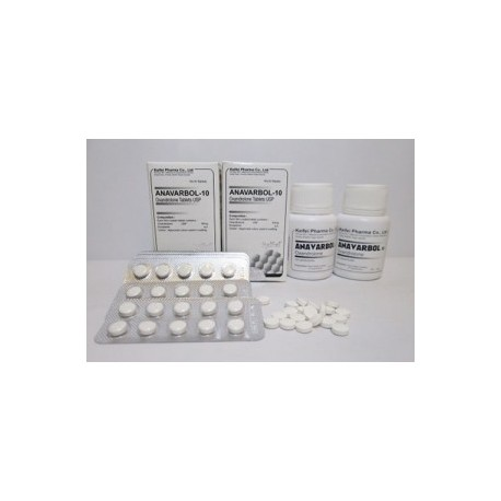ANAVAR 100 x 10mg tablets with Verification