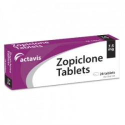 Zopiclone by Actavis UK !!! 28 x 7.5mg tabs