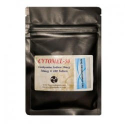 T3 CYTOMEL Double Strength 50mcg 100 tablets!!!